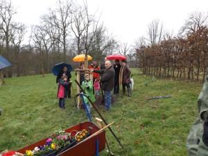 Mitglieder-Integrationsrat-Baumpflanzung